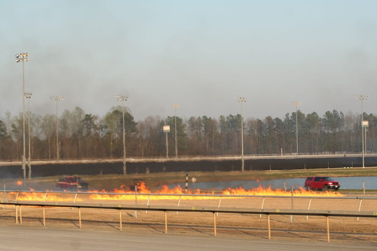 Colonial Downs set once again to burn turf course