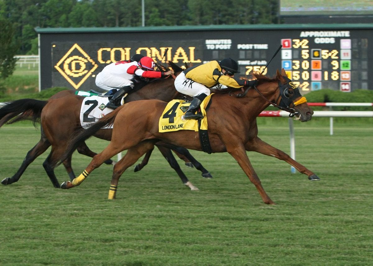 "Karamanos' 50-1 Turf Cup shocker had nothing on this ""Special K"" effort"