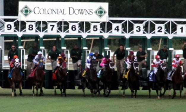 "Colonial Downs ""good news story,"" Byrne tells Commission"