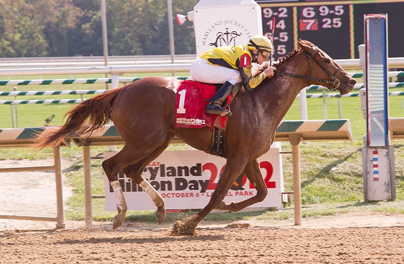 Kendrick Carmouche takes two on PA's Day at the Races at Parx