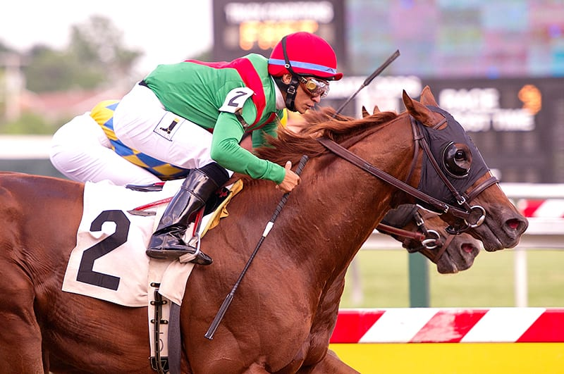 Heat Press looks to get on track in Delaware's Barbaro Stakes