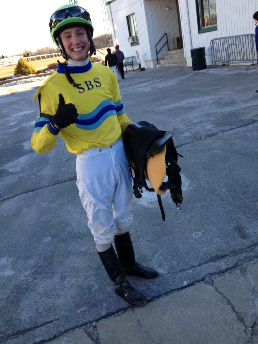 Trevor McCarthy wraps up Laurel Park riding title with room to spare