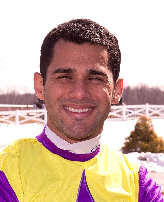 Abel Castellano returns to Maryland riding colony