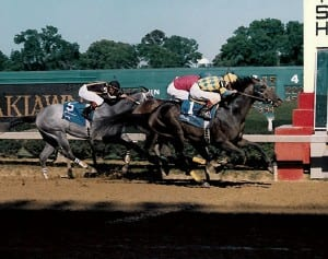 Concern takes the Arkansas Derby.  Photo by Stidham and Associates.