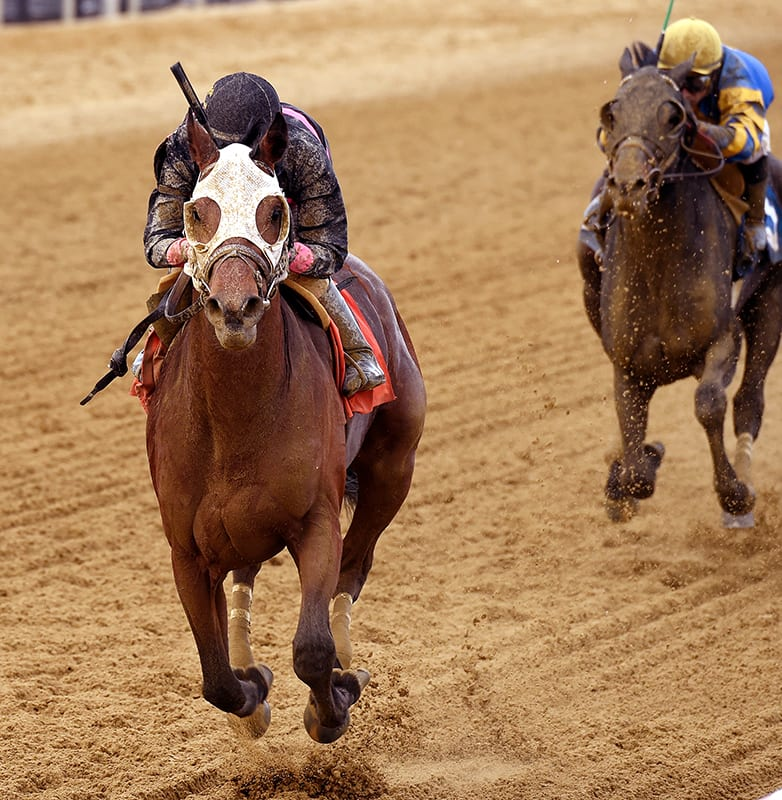 Kid Cruz possibly punches Preakness ticket with Tesio win