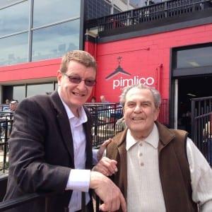MJC president Tom Chuckas and Fred Tallarico.  Photo by Dianne Tallarico.