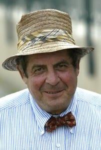 Dickie Small.  Photo courtesy of the Maryland Jockey Club.