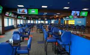 The new William Hill Sports Bar at Monmouth.  Photo  by Bill Denver/EQUI-PHOTO