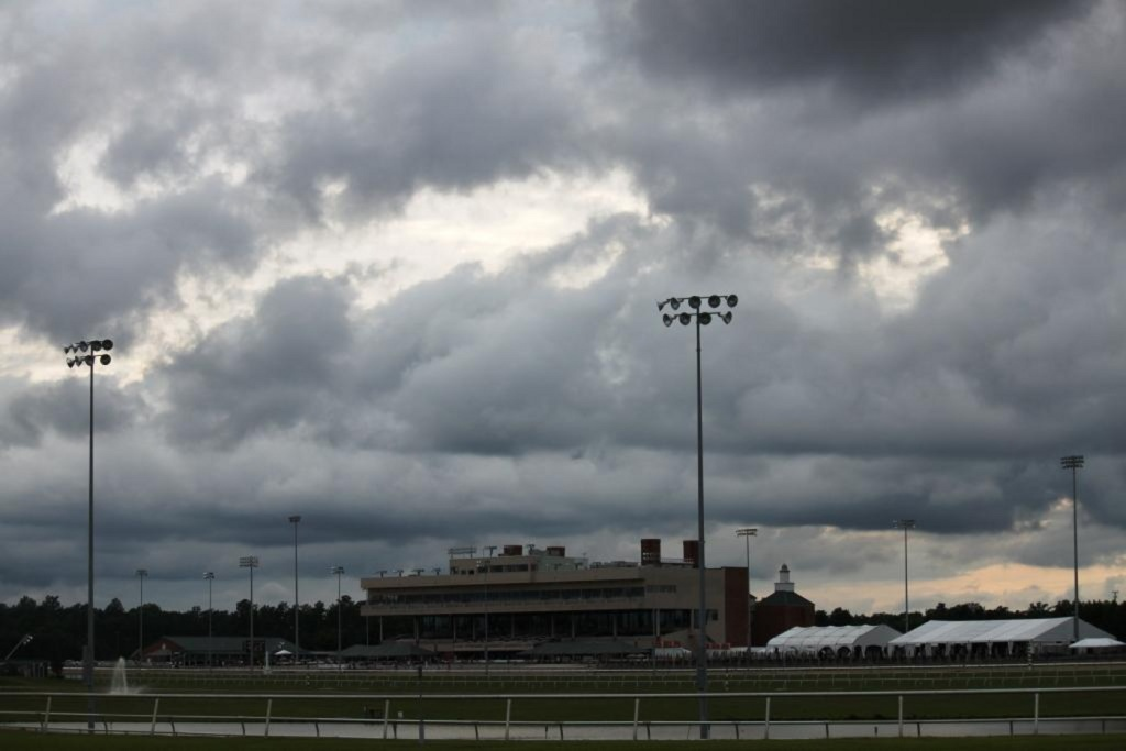 No action at this place tomorrow, as Virginia racing decamps to Maryland. Photo by Nick Hahn.