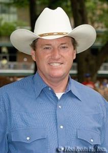 Trainer Larry Jones. Photo by Hoofprints Inc.