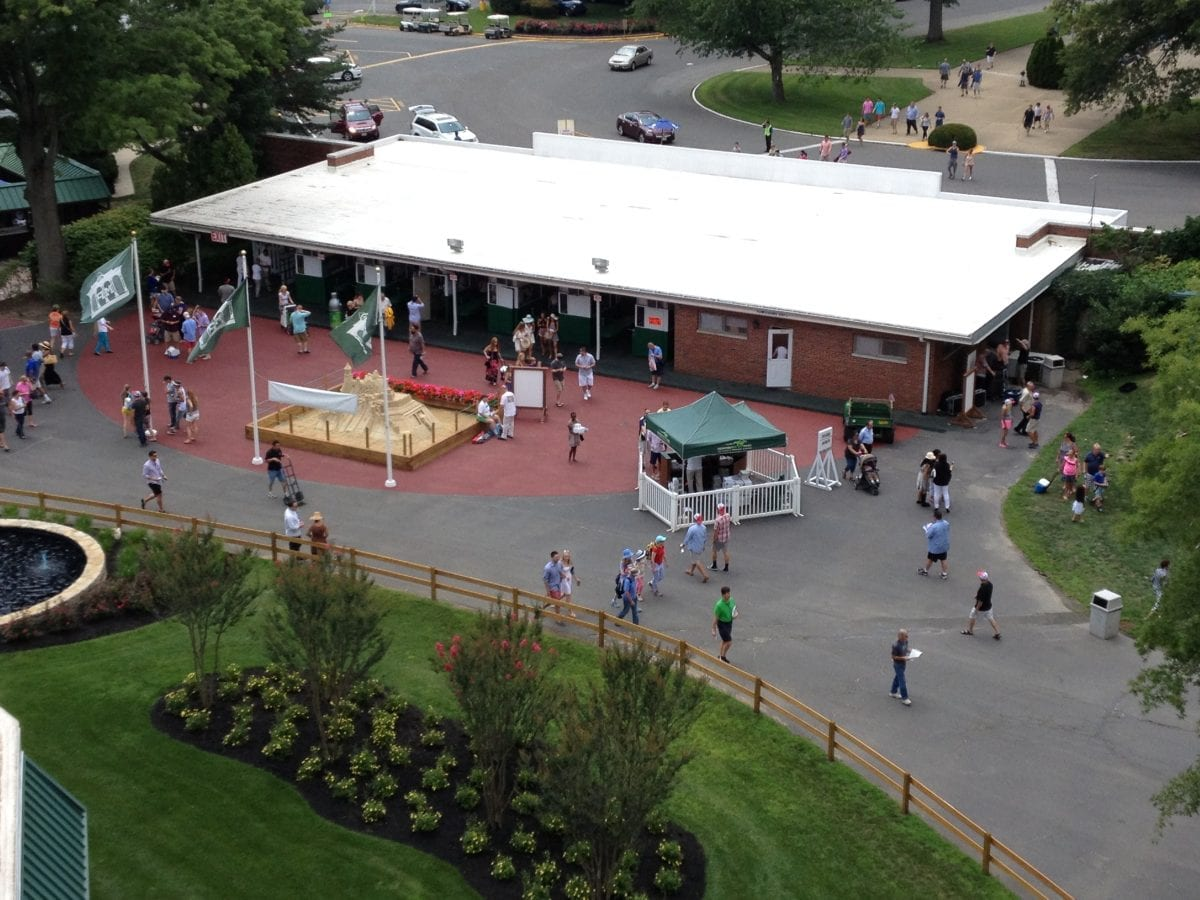 Monmouth Park gains in average attendance, handle