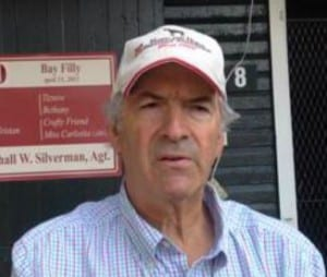 Marshall Silverman. The Blood-Horse spoke with him, as well, and video is at: