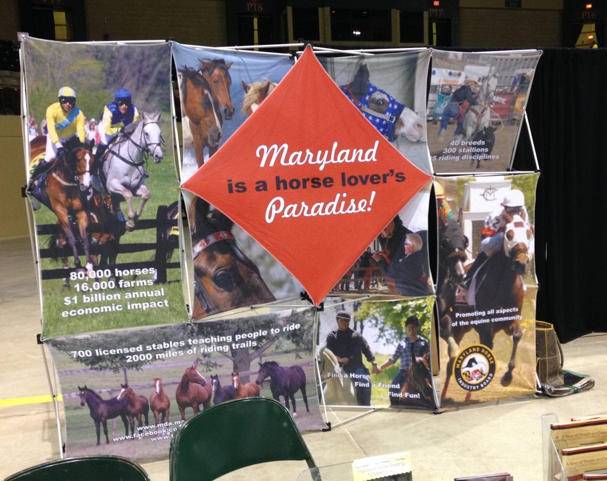 At the Maryland Horse Forum, momentum, and Pimm's Cups