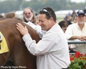 Juan Carlos Guerrero and equine pal. Photo by Equi-Photo.