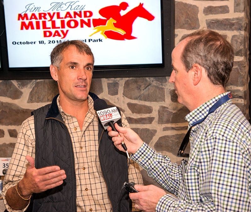 Trainers support Maryland Million entry box
