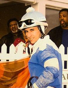 Alex Cintron. Photo by Jim McCue, Maryland Jockey Club.