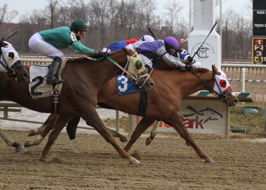 Page McKenney takes the Campbell. Photo by Laurie Asseo.