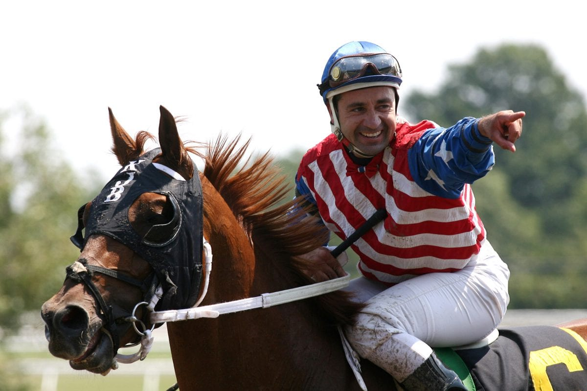 Who leads latest Top Midlantic jockey, trainer ranks?