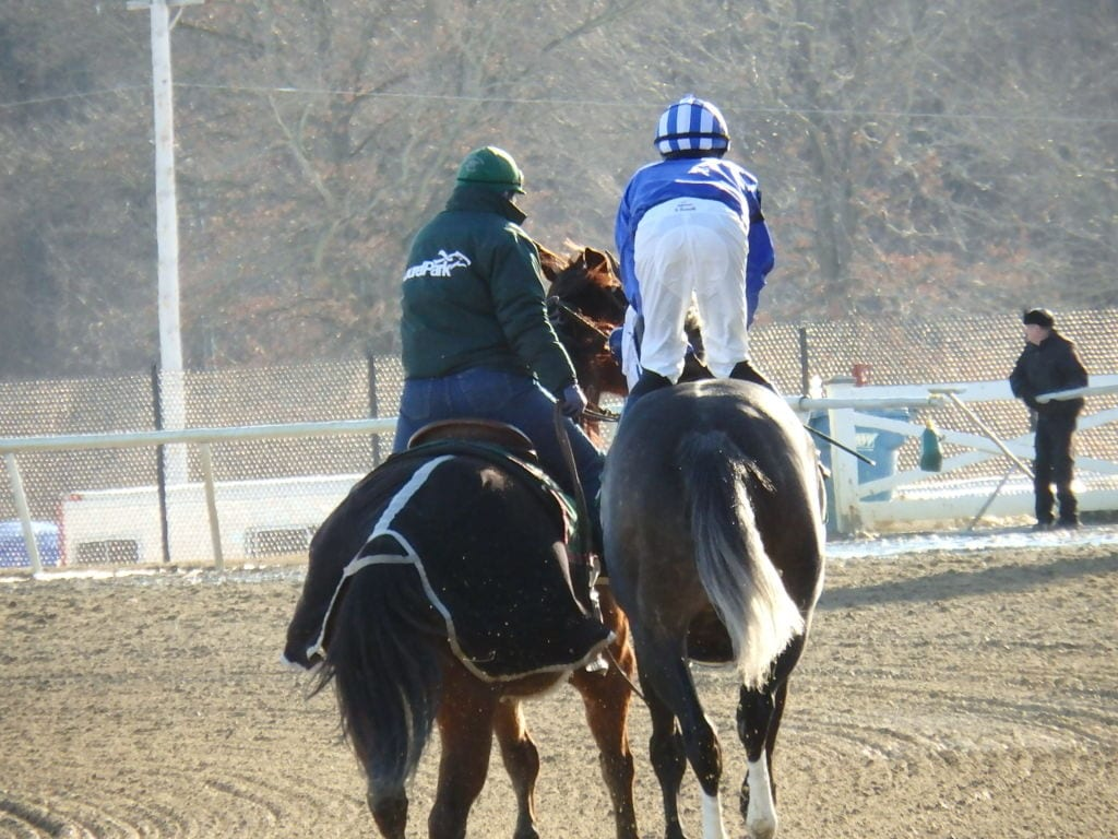 Sheldon Russell would like to leave 1,000 victories (and winter) behind. Photo by The Racing Biz.