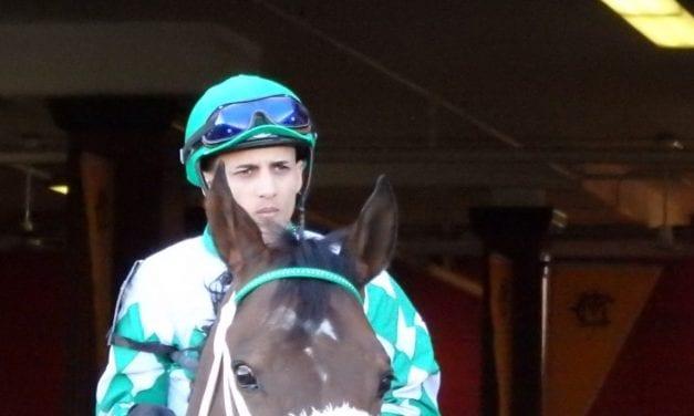 Injured Jevian Toledo hoping for February return to riding