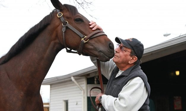 At 81, trainer John Mazza may have a star on his hands