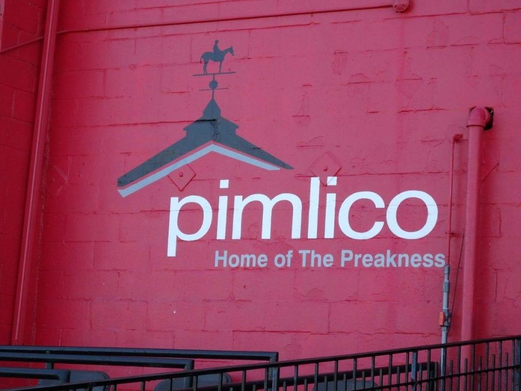 Pimlico sign