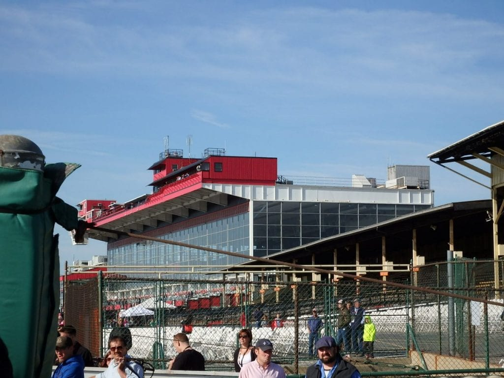 The status of Pimlico -- and how that's handled -- is one challenge facing Maryland racing. Photo by The Racing Biz.