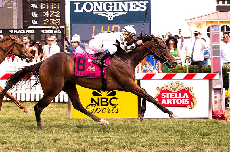 In with the new on Preaknessy Preakness day