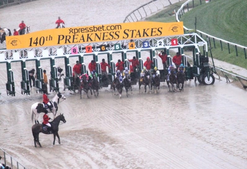 Preakness day stakes winners