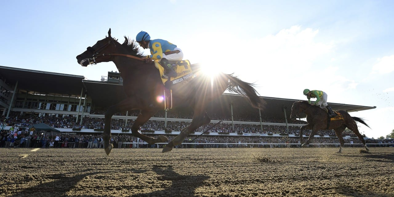 American Pharoah romps to Haskell victory