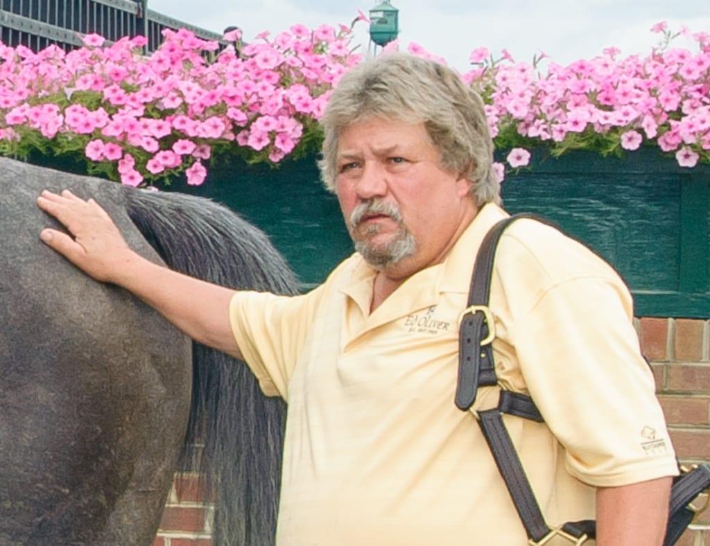 John Vinson and Grey Beau. Photo by HoofprintsInc.com
