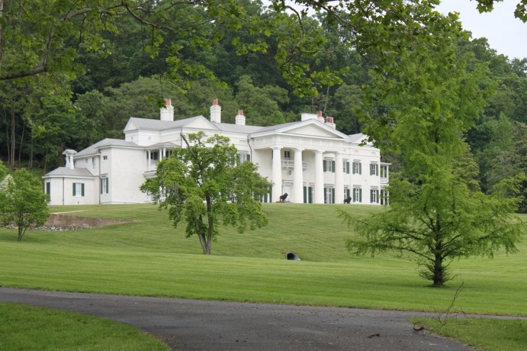 Morven Park was the home of former Virginia Governor Westmoreland Davis. Photo by Nick Hahn.