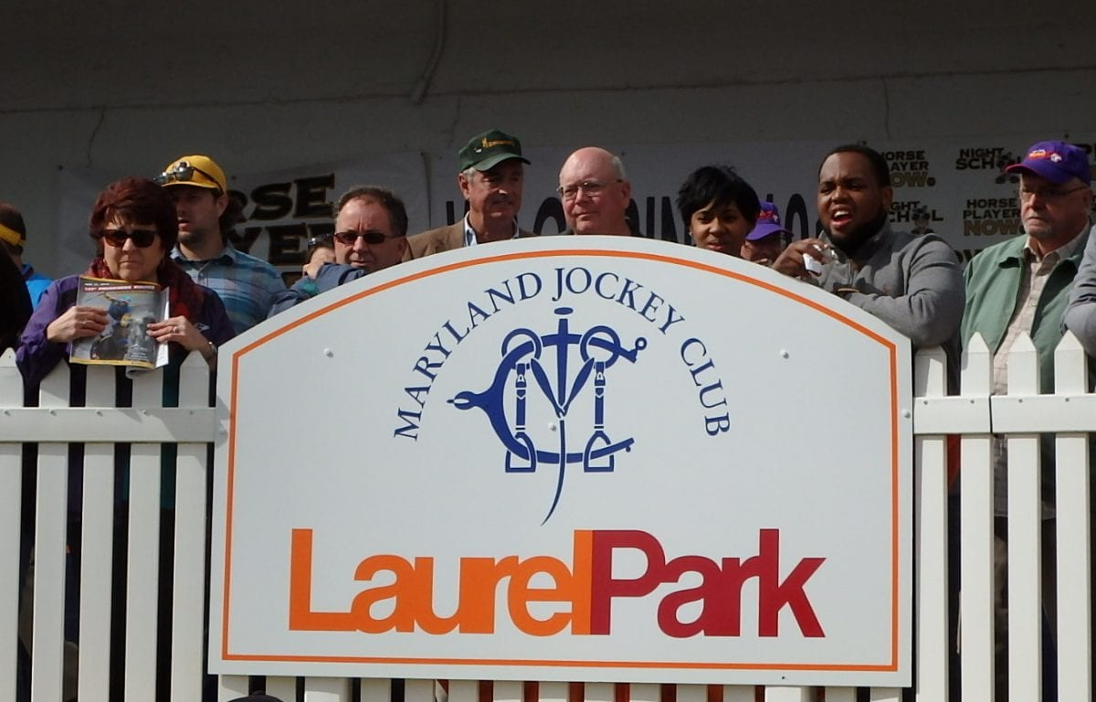 Laurel Park racing notes