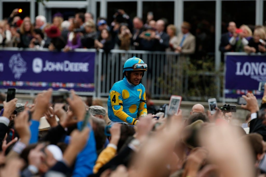Gather round, fans and racegoers, for the tale of American Pharoah. Photo by © Breeders' Cup/Todd Buchanan 2015