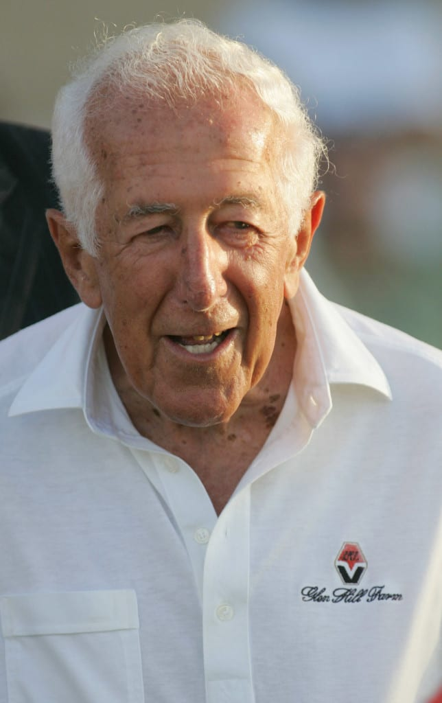 Leonard H. Lavin at Del Mar 09.03.2006. Photo by HorsePhotos.