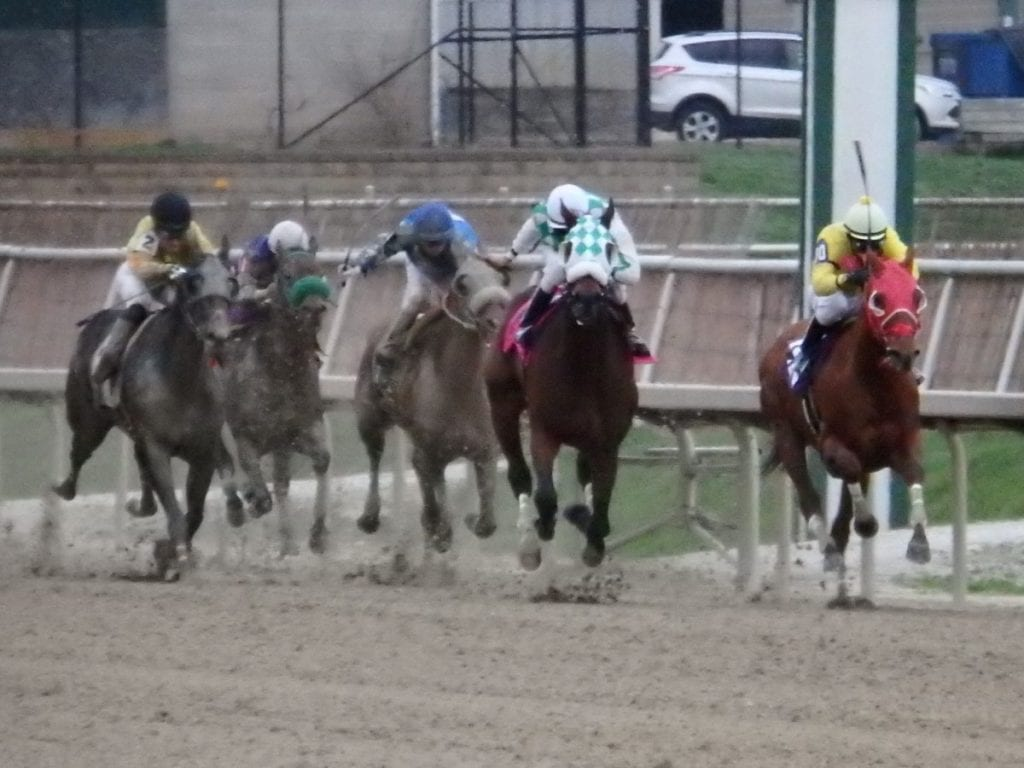 Racing at Laurel Park. Photo by The Racing Biz.