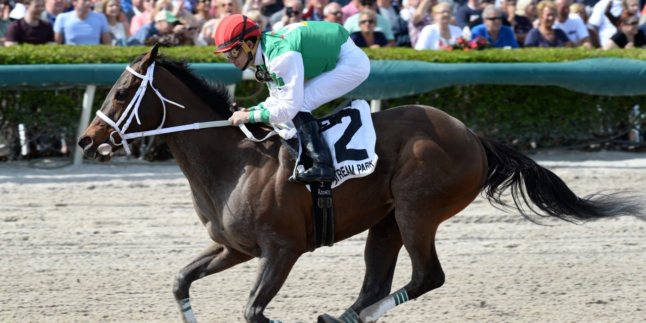 "Md-bred Cathryn Sophia ""super"" after Davona Dale win"