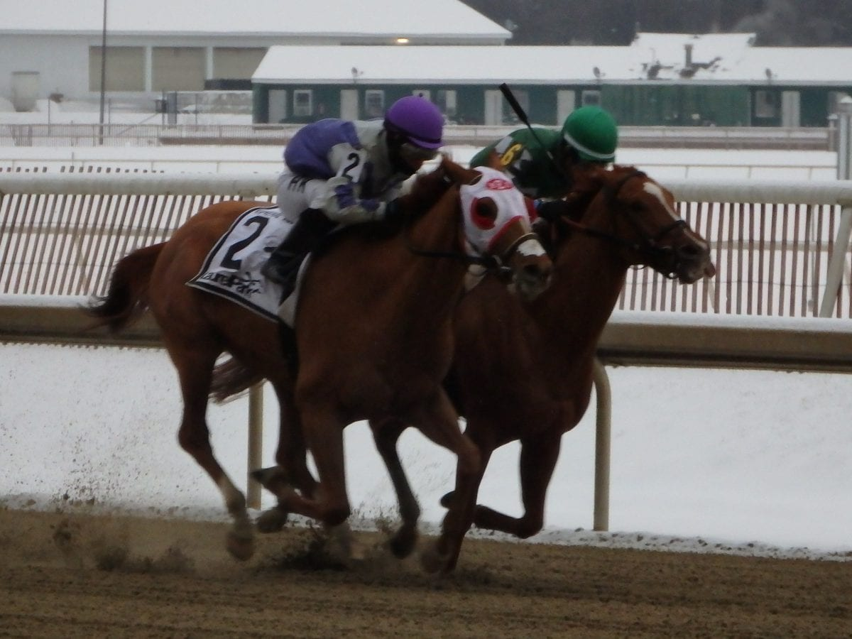 Page McKenney takes the General George
