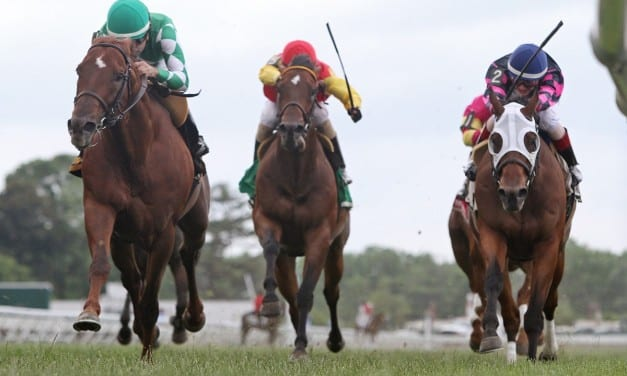 Virginia-bred Middleburg notches G3 Red Bank win