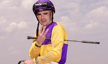 Feargal Lynch, atop Pimlico jock standings, looks to put past behind