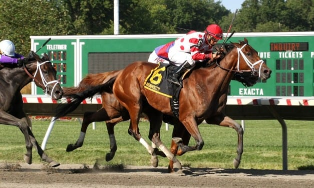 Unbridled Mo prevails in Monmouth Oaks duel