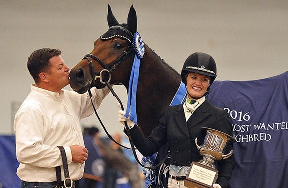Thousands attend Thoroughbred Makeover