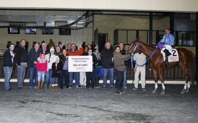 1,000 wins for Richard Vega – after an objection