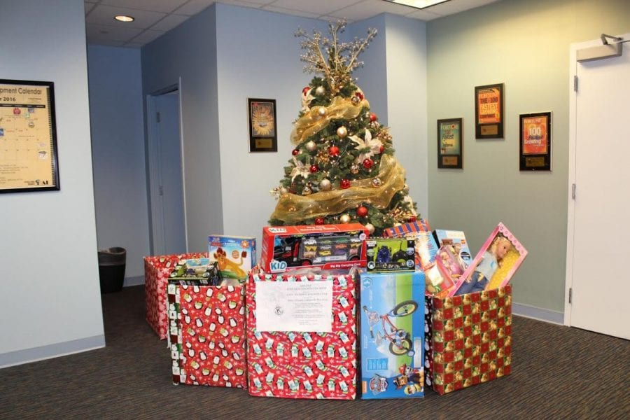Charles Town toy drive