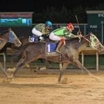 October 13 handicapping contest leaderboard