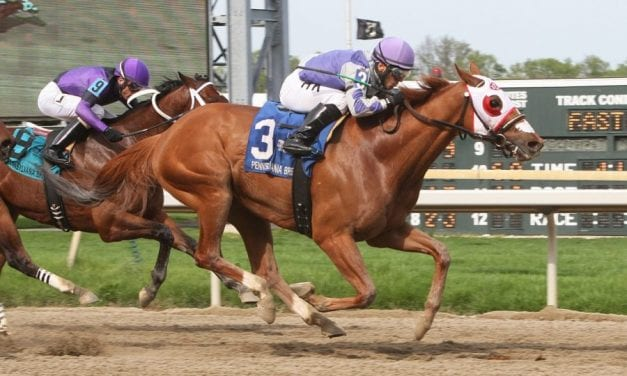 Page McKenney powers to Lyman Stakes victory