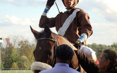 Jockey Victor Carrasco out with injured elbow