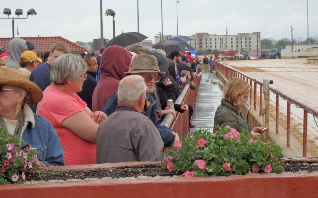 """Despite rain and cool temps, """"all good"""" at Charles Town Classic"""