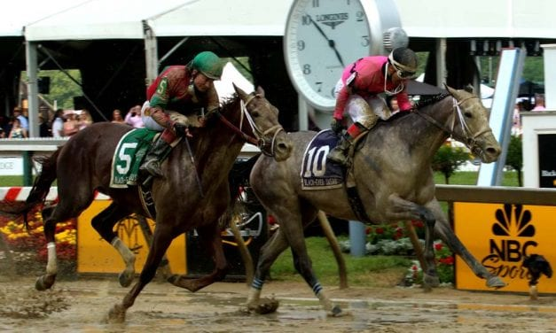 Locals well-beaten as out-of-towners sweep Black-Eyed Susan graded stakes