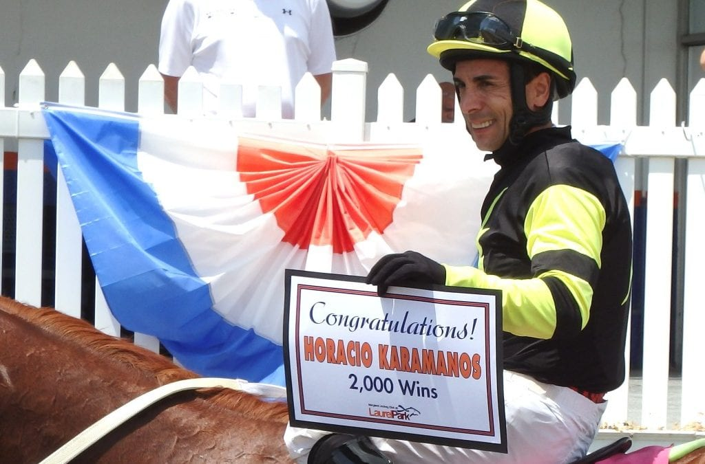 Karamanos wins Laurel summer meet riding title